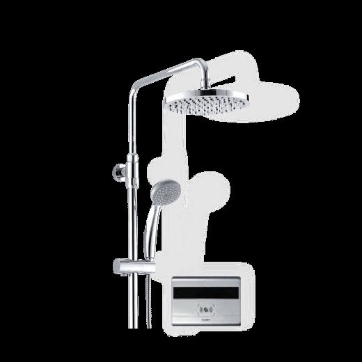 智能淋浴控制展示图,刷卡取水,节水神器